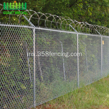 Hot Sale Chain Link Mesh Airport Pagar