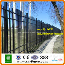 PVC powder coated security path fence