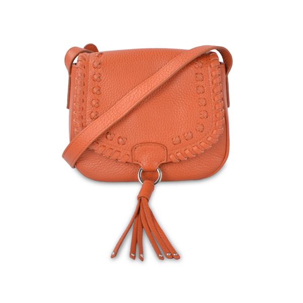 crossbody small square bag female with tassel