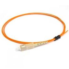 Intérieur / extérieur avec connecteur fibre optique pigtail, om3 sc fibre optique pigtail