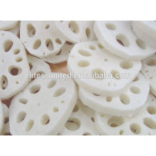 Organic IQF Frozen Lotus Root Vegetable Slices