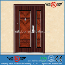 JK-S9058 Hot mother and son door/ Decorative exterior steel security door