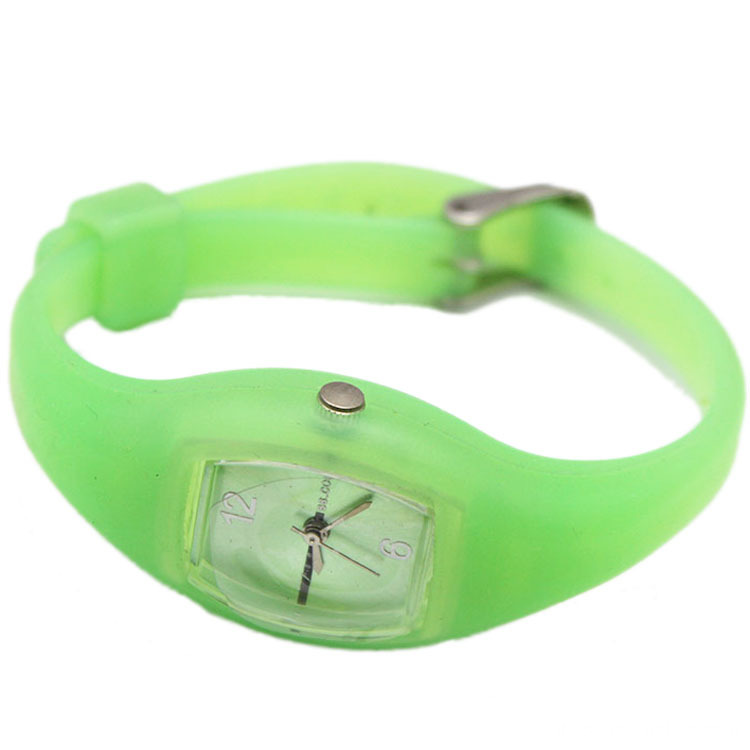 New Style Kids Silicone Watch With Customized Logo