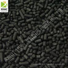 Carvão ativado extrudido de 3mm para uso em Purificação do Ar