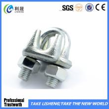 Clip de retención de cable galvanizado