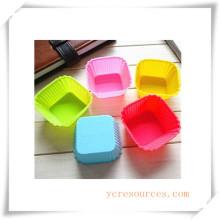 Molde de silicón ovalado de 16 cavidades para jabón, pastel, magdalenas, brownie y más (HA36027)