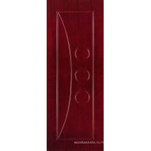 Дверь МДФ плоский с шпона (MD02)