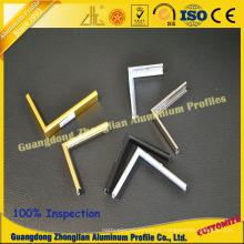 Perfil de alumínio da ectrusão para o quadro de alumínio do armário do quadro