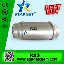 manufacture of high purity refrigerant gas r23 in seamless cylinder