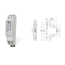 Medidor de Energia Elétrica Inteligente de Fase Única Monofásica