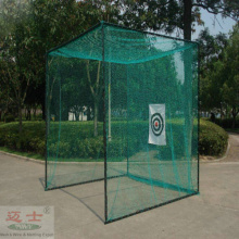 Golf driving target practice net cage