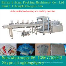 Gsb-220 Máquina de selagem de alimentação automática de gesso horizontal de 4 lados