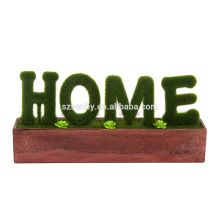 2017 peace letter deer themed petrified woodhome decor