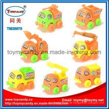 Mini Pull zurück Engineering Fahrzeug Spielzeug mit 7 Arten