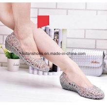 Senhora mais recente de alta qualidade sandálias geléia de cristal (ff614-6)
