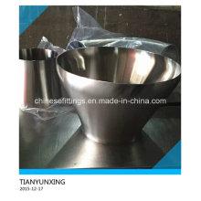 Aço inoxidável polido aço inoxidável Ss304 Ss316 tubo redutor
