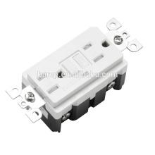 BAS-004 15A 125V 1LED tamper-resistant GFCI for bathroom