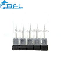 BFL Carbide Taper Ballnose 2 flauta fresas TiAlN