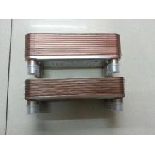 Herstellung eines gelöteten Plattenwärmetauschers AISI 304