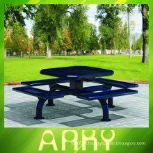Table de chaise d'extérieur pour meubles de jardin de bonne qualité