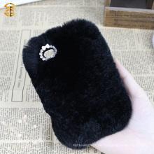 Fabrik-Versorgungsmaterial-Luxuxpelz-Handy-Kasten für Iphone