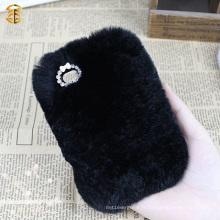 Factory Supply Luxury Fur Housse de téléphone portable pour Iphone