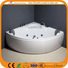 Bañera de esquina doble con jacuzzi para personas (CL-340)