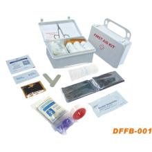 Erste-Hilfe-Set mit Kunststoffbox