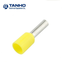 TANHO  Insulated Cord End Terminals Tinned Copper Ferrule Terminal Lugs Pin Type