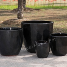 Pots de jardin de pot de fleur coloré bon marché de taille 4