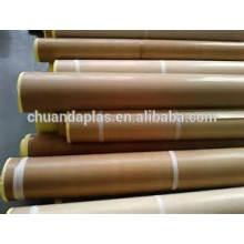 Fita de tecido de fibra de vidro PTFE com papel de liberação