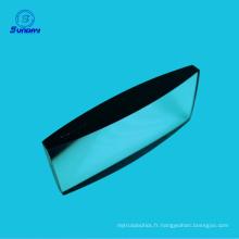 Lentille cylindrique de grande taille CaF2 calcium Fluorure 100mm