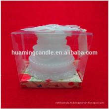 Bougie bon marché à usage quotidien fabriquée en Chine usine