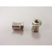 specialized Stainless steel round nut, nonstandard nut with two end point