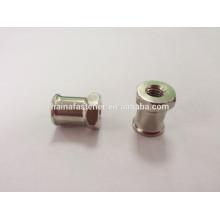 Специализированная круглая гайка из нержавеющей стали, нестандартная гайка с двумя конечными точками