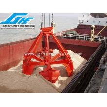 Équipement de manutention de ferraille avec quatre cordes Grab d'épluchure d'orange (3-60T)