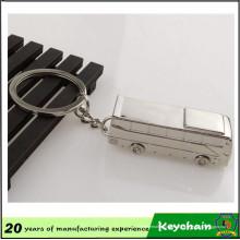 Heißer Verkauf Fahrzeug Bus Schlüsselanhänger mit Laser-Logo