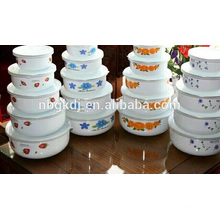 carbon steel ice bowl enamel coating & eating enamelware wholesale