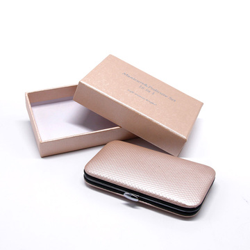 Custom luxury nail clipper set boxes packaging