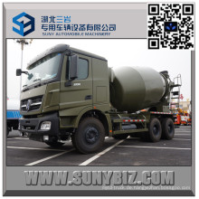 Beiben 9 Cbm Military Mixer Truck mit Mercedes Benz Technologie
