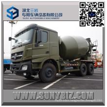 Beiben 9 Cbm Military Mixer Truck with Mercedes Benz Technology