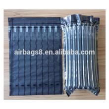 Professional black color filling air cushion packaging bags for toner cartridge