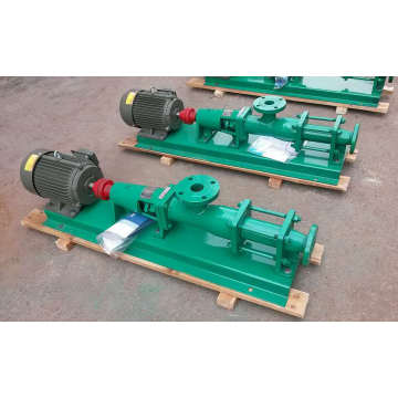 G series single mortar pulp screw pump