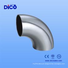Encaixes de tubulação sanitários ANSI B16.9 304 / 304L / 316 / 316L / 321