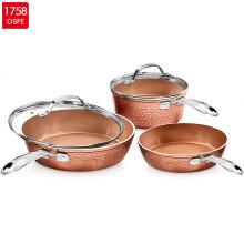 Forged Aluminium Nonstick Cookware 3pcs Frypan