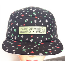 Heavy Brushed Cotton Twill Joint Embroidery Sport Baseball Cap