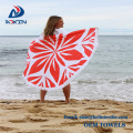 100% Polyester Round Beach Towel Large America National Flag beach towel