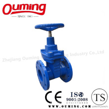 DIN Stainless Steel Flanged Gate Valve with Handwheel