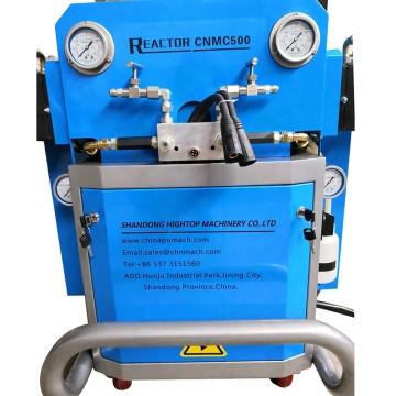 Two component pu foam wheel foam polyether machine