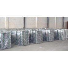 Lingote de aluminio de alta pureza 99,5% Min, 99,7% Min, 99,8% Min (A5, A7, A8)